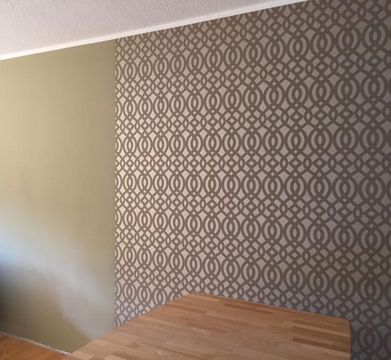 Wandgestaltung-Innenraum Malermeister Esser